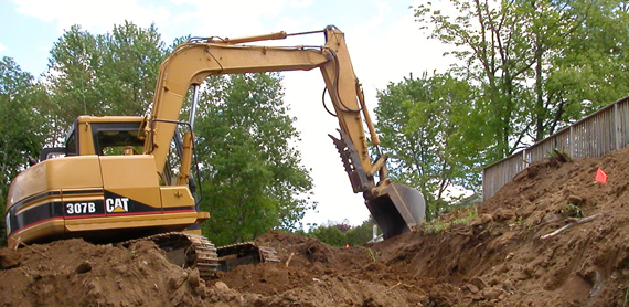 Excavating White River Junction VT